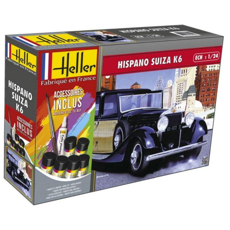 Heller 56704 Hispano Suiza K6 (m. accessories)