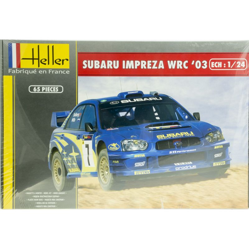 Heller Subaru Impreza WRC03