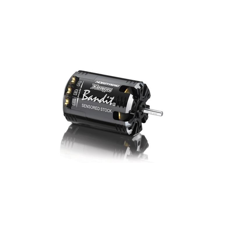 Hobbywing XERUN Bandit 5.5T Black G2 brushless szenzoros motor verseny autómodellekhez