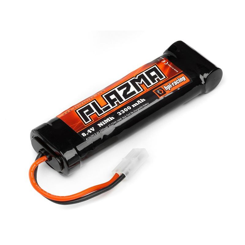 HPI 106390 Plazma 8.4V 3300Mah Ni-Mh Battery Pack 27.72Wh
