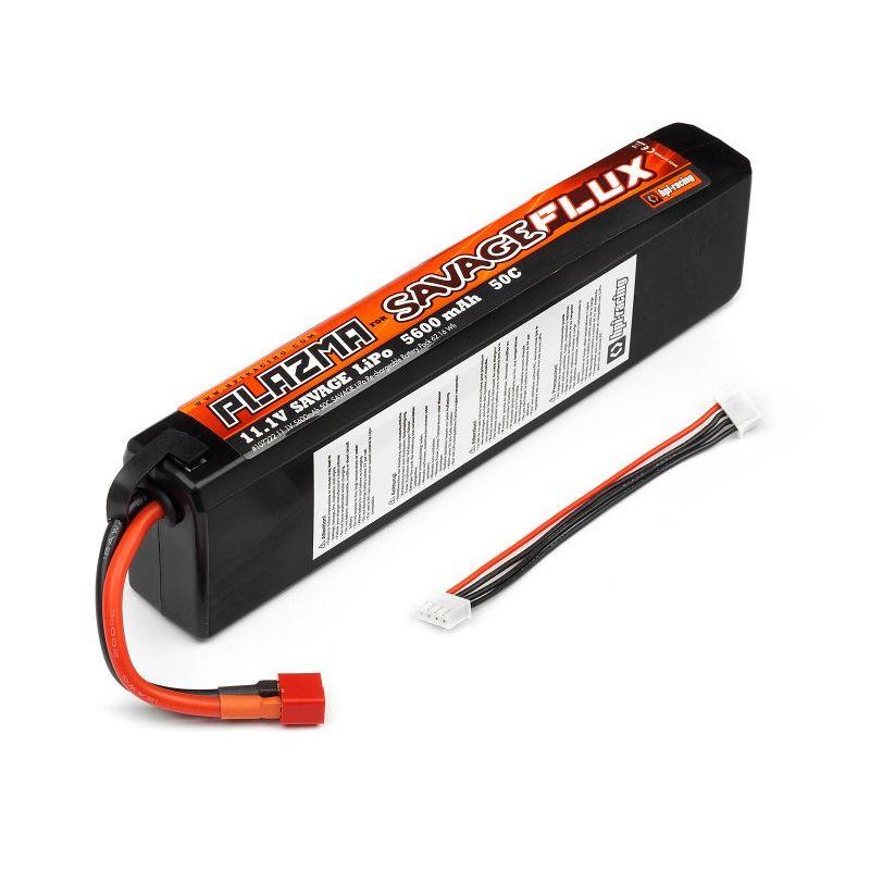 HPI 107222 PLAZMA 11.1V 5600mAh 50C LiPo Battery Pack 62.16Wh