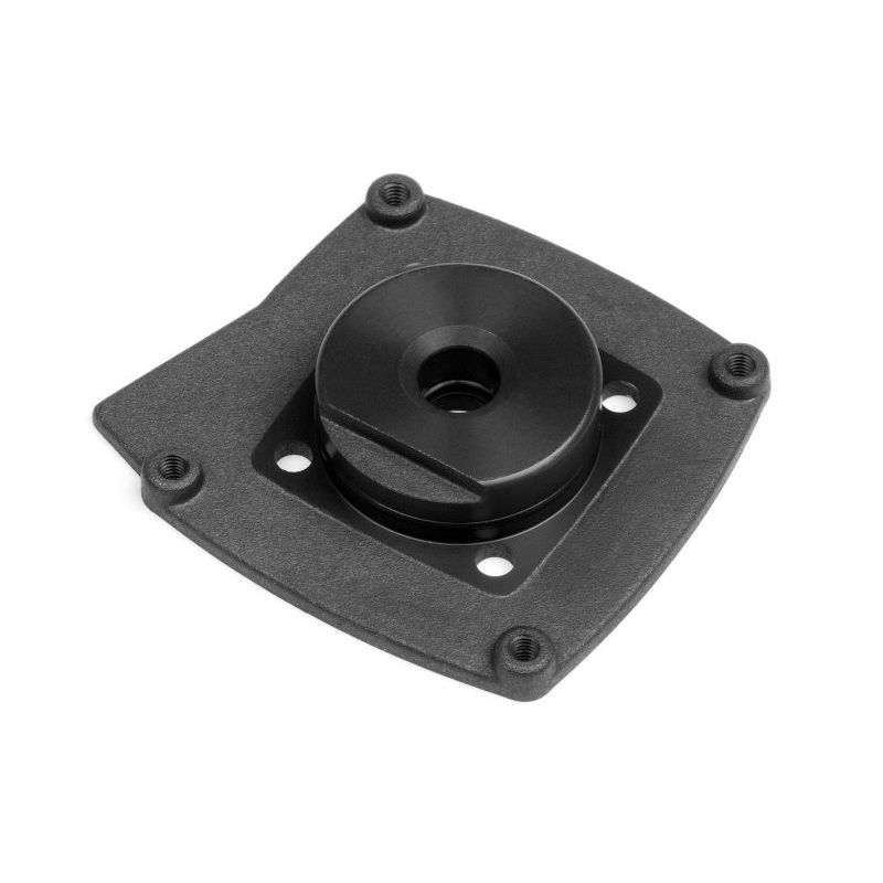 HPI 15153 COVER PLATE (fekete/T3.0)
