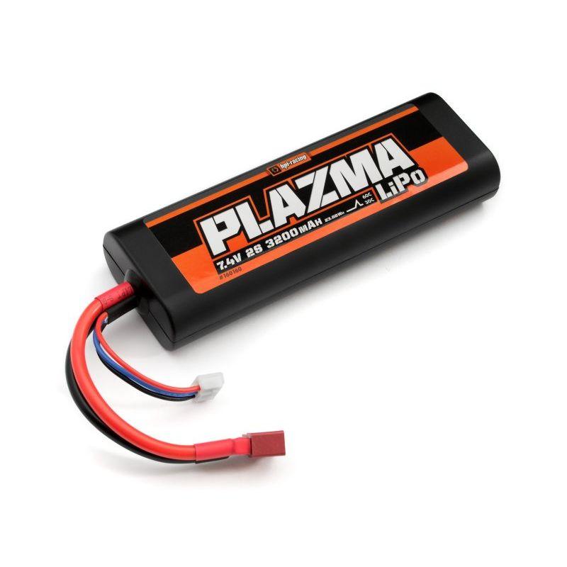 HPI 160160 Plazma akkumulátor 7.4V 3200mAh 30C LiPo Battery Pack 23.68Wh