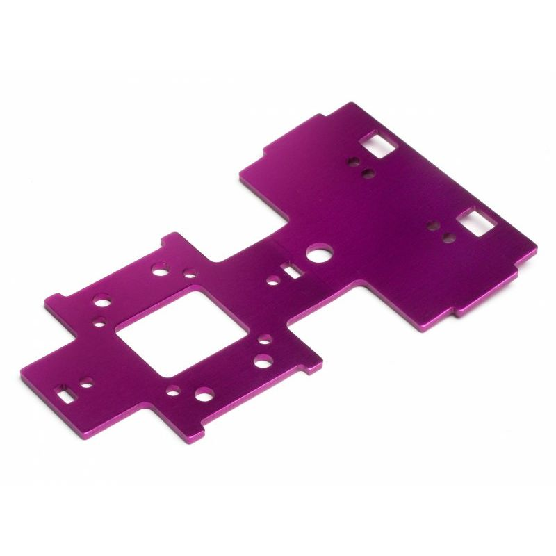 HPI 82030 GEAR BOX UNDER PLATE 2.5mm (PURPLE)