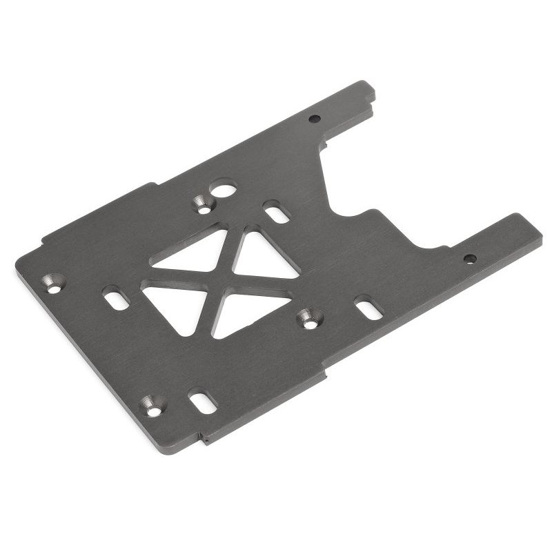 HPI 86080 ENGINE PLATE 3.0mm (GRAY)