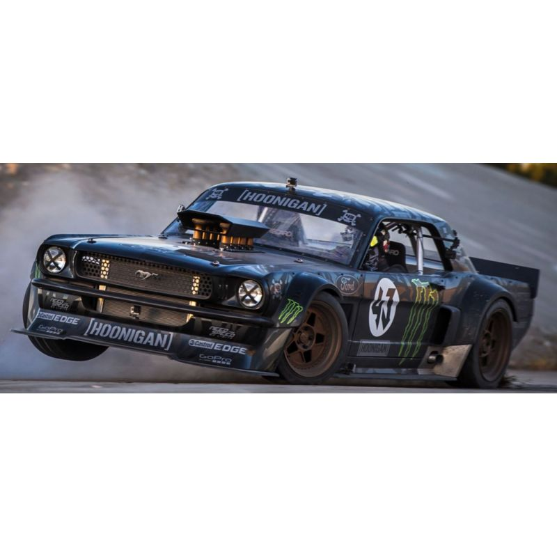 HPI 115990 RS4 SPORT 3 1965 HOONICORN FORD MUSTANG 1/10 4WD ELECTRIC CAR