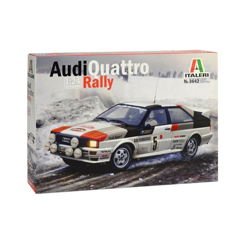 3642S ITLAERI Audi Quattro Rally 1/24