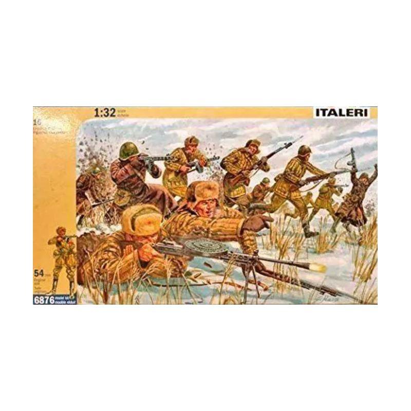 ITALERI 6876 Szovjet gyalogság télen