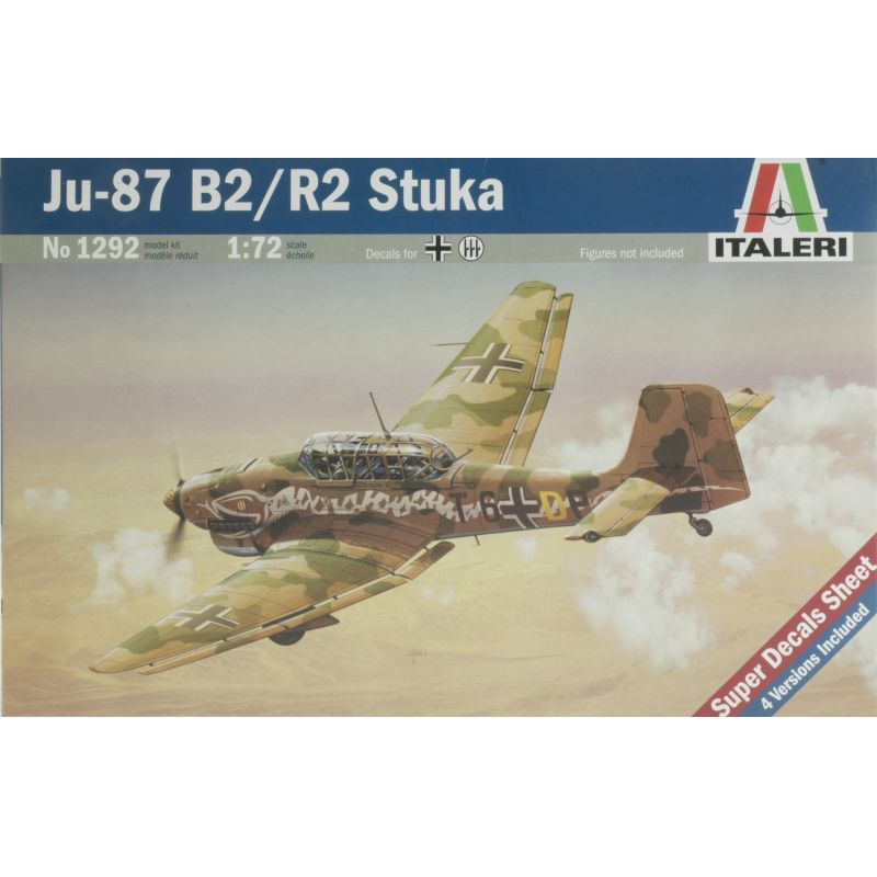 Italeri 1292 Ju-87 B2/R2 Stuka
