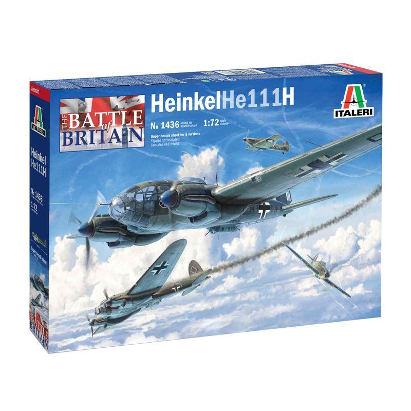 Italeri 1436s He 111 H-6