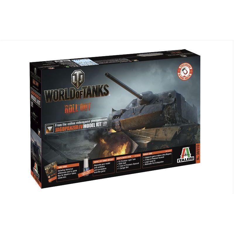 Italeri Jagdpanzer IV World of Tanks