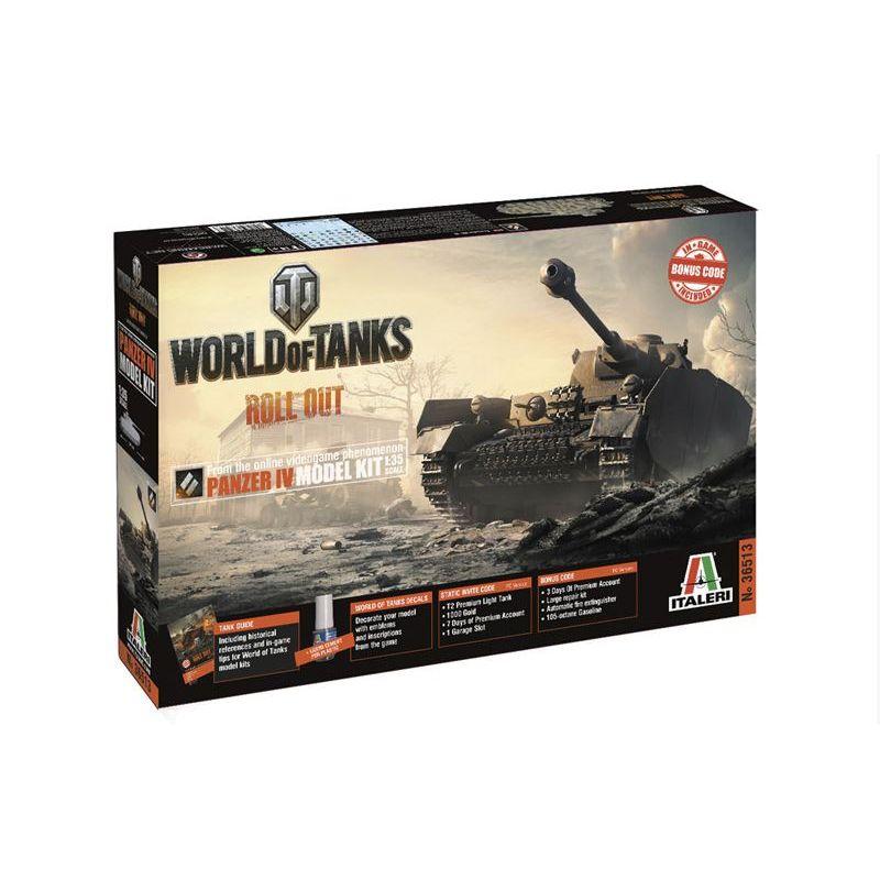 Italeri 36513 Panzer IV H World of Tanks