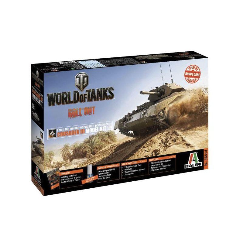 Italeri 36514 Crusader III World of Tanks