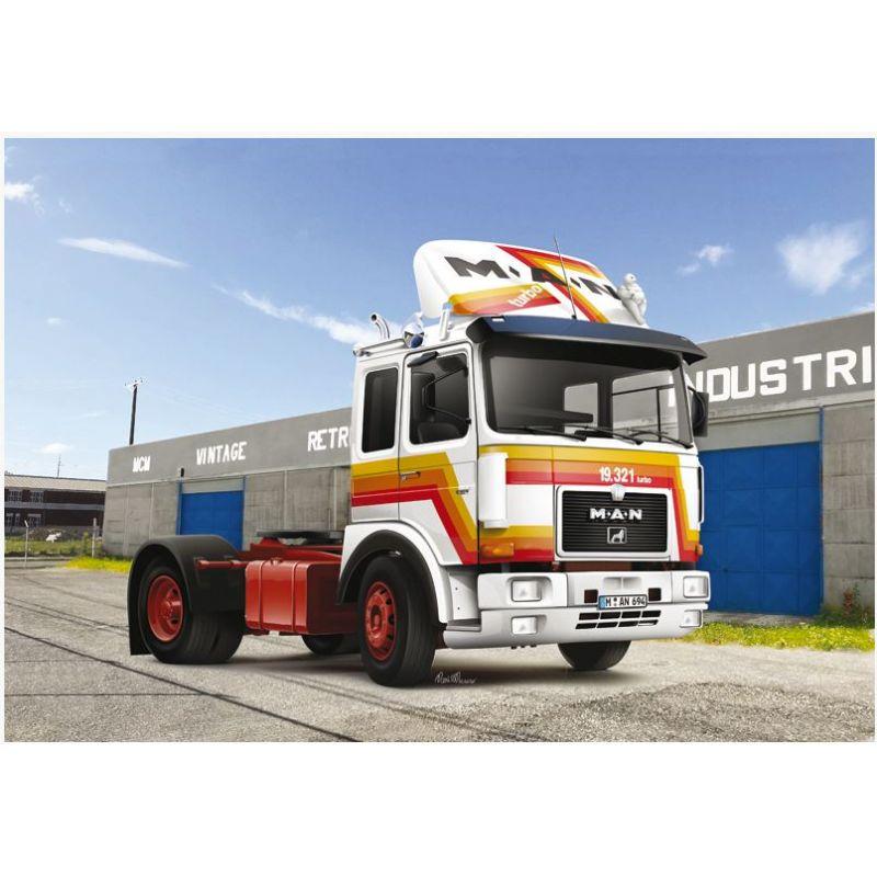 Italeri 3946S MAN F8 19.321 2 Axle Tractor