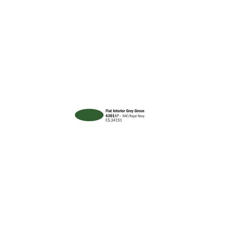 Italeri 4301AP matt szürke zöld akril makett festék