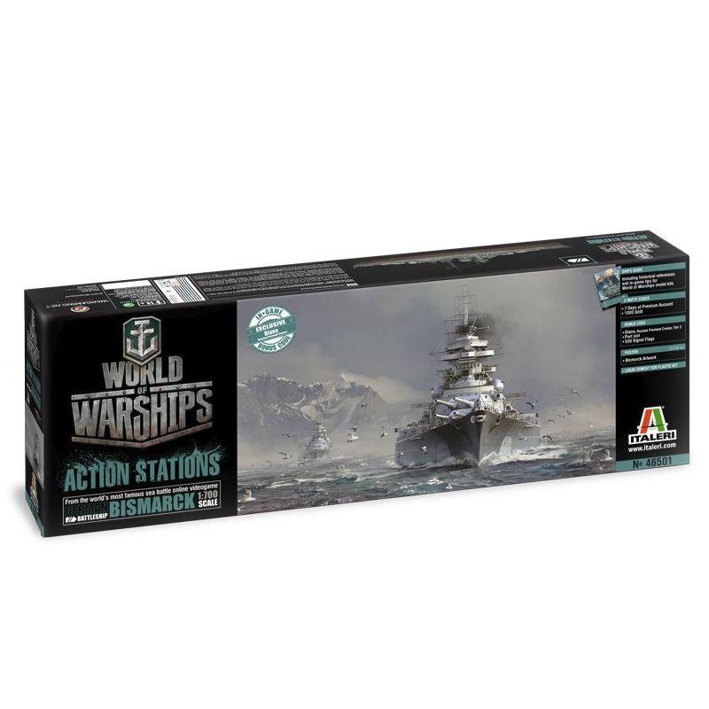 Italeri 46501 German Battleship Bismarck World of Warships