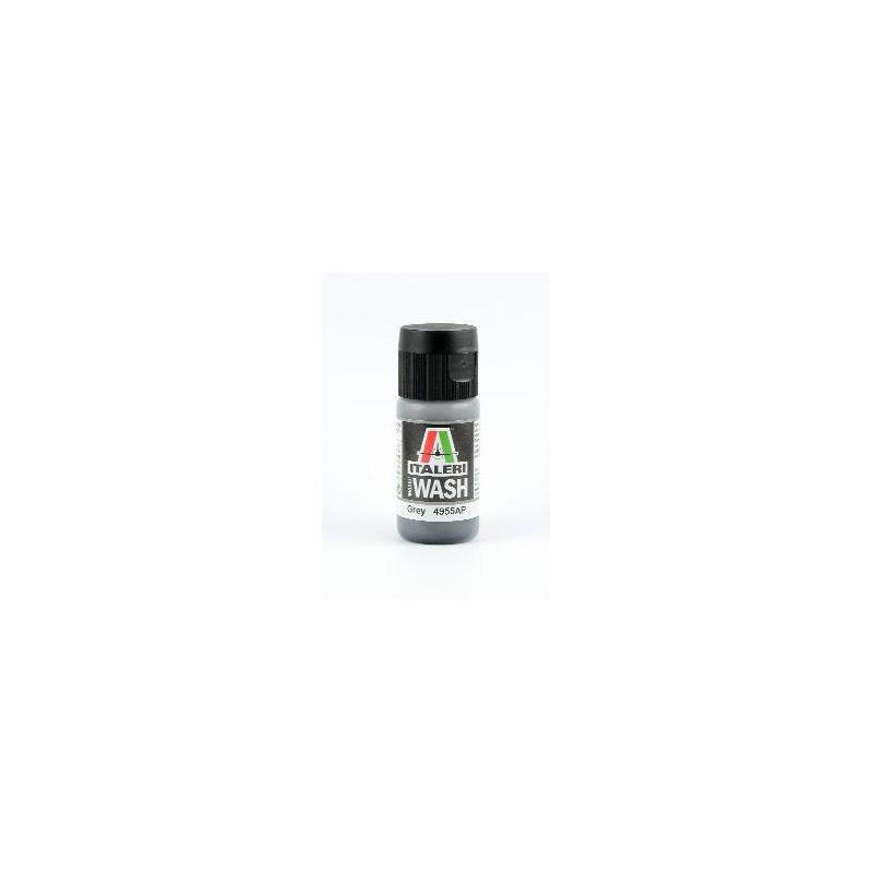 Italeri 4955AP szürke - ACRYLIC MODEL WASH akril makett festék