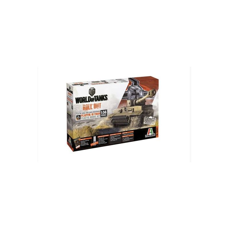 Italeri 56501 Pz.Kpfw.VI Tiger World of Tanks