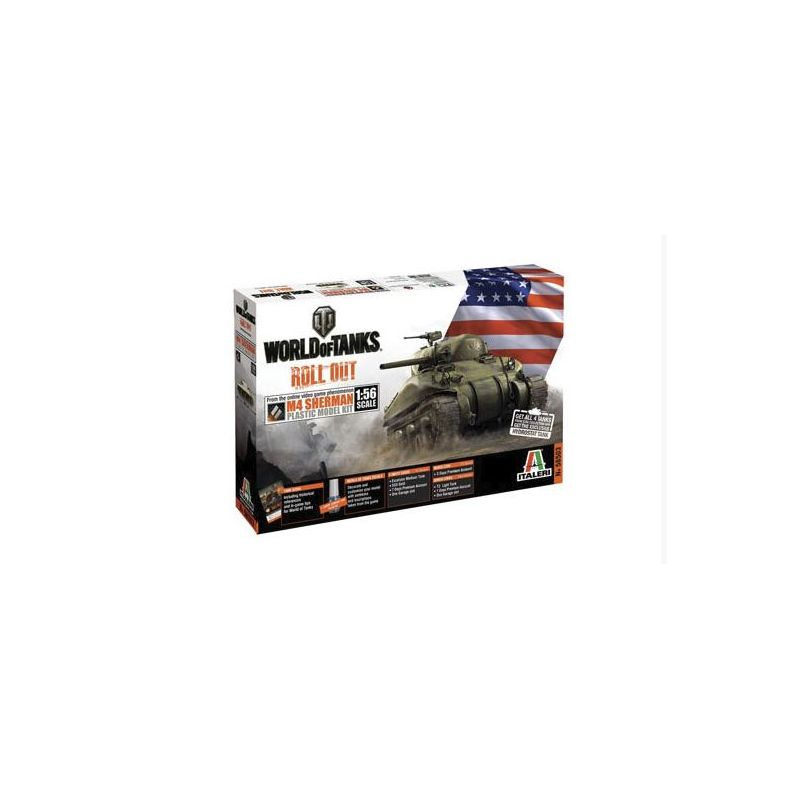 Italeri 56503 M4 Sherman World of Tanks