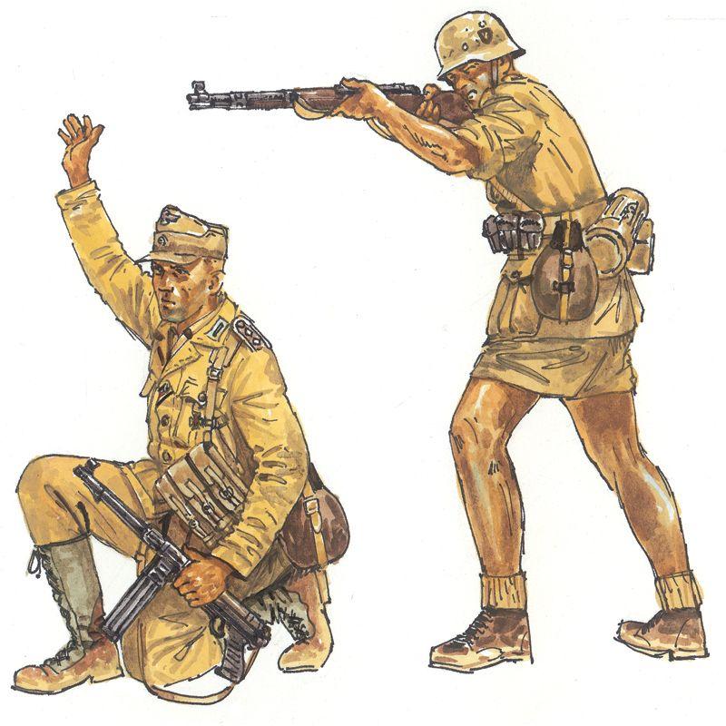 Italeri 6076 WWII- GERMAN AFRIKA CORPS