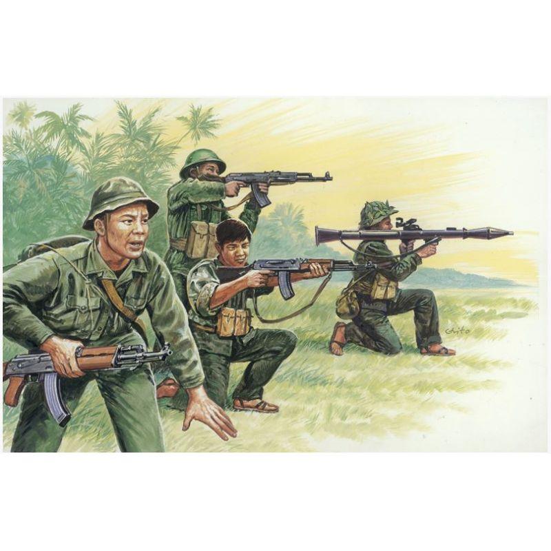 Italeri 6079 VIETNAM WAR - VIETNAMESE ARMY / VIETCONG