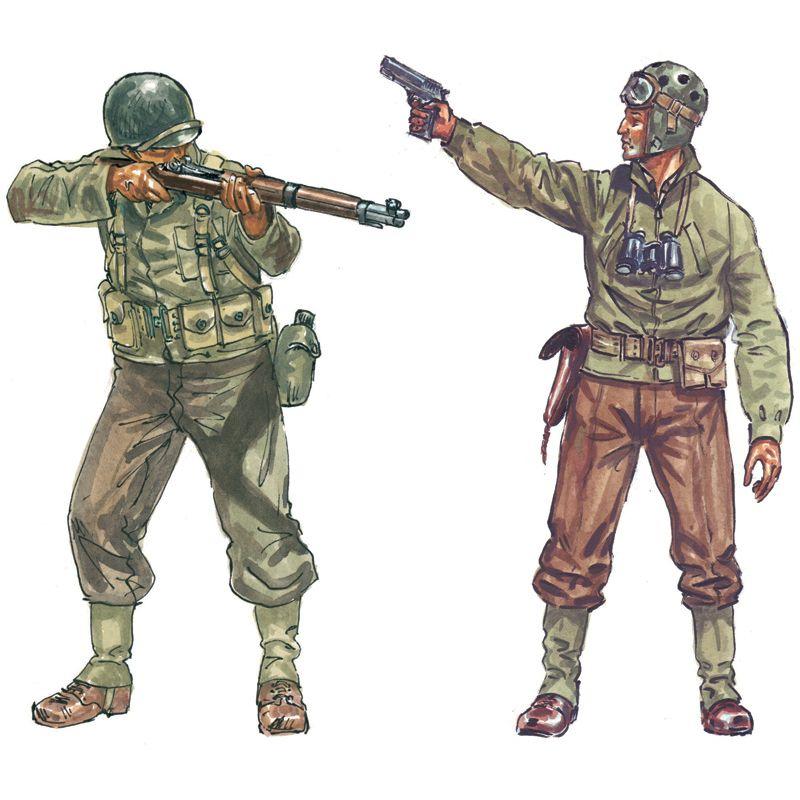 Italeri 6120 WWII- AMERICAN INFANTRY