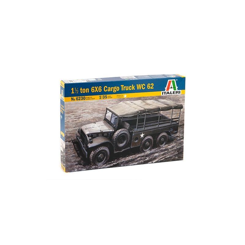 Italeri 6230 6x6 CARGO TRUCK WC 62