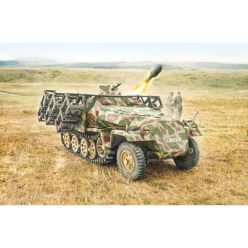 Italeri 7080S Sd.Kfz. 251/1 Stuka zu Fuss