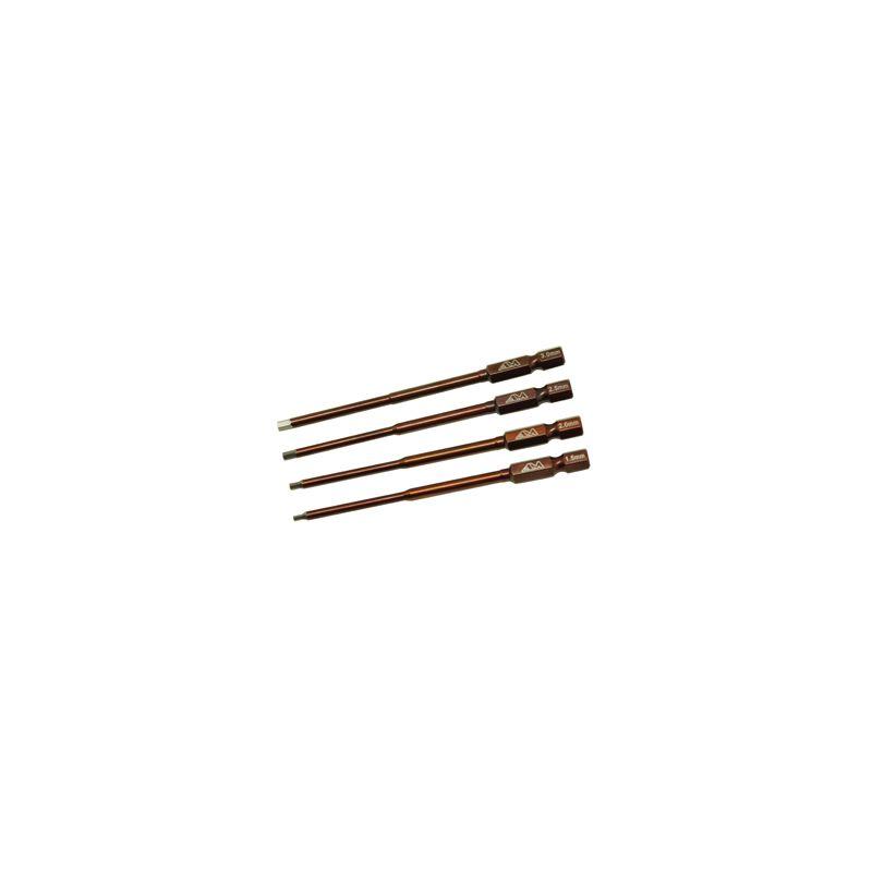 Kéziszerszámhoz imbusz hegy set 4 darabos; 1.5-2.0-2.5-3.0mm