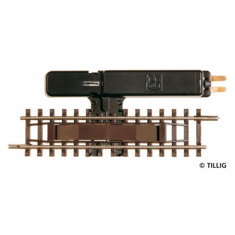 Tillig 83201 Elektromos kocsiszétkapcsoló modellsínhez, 83 mm