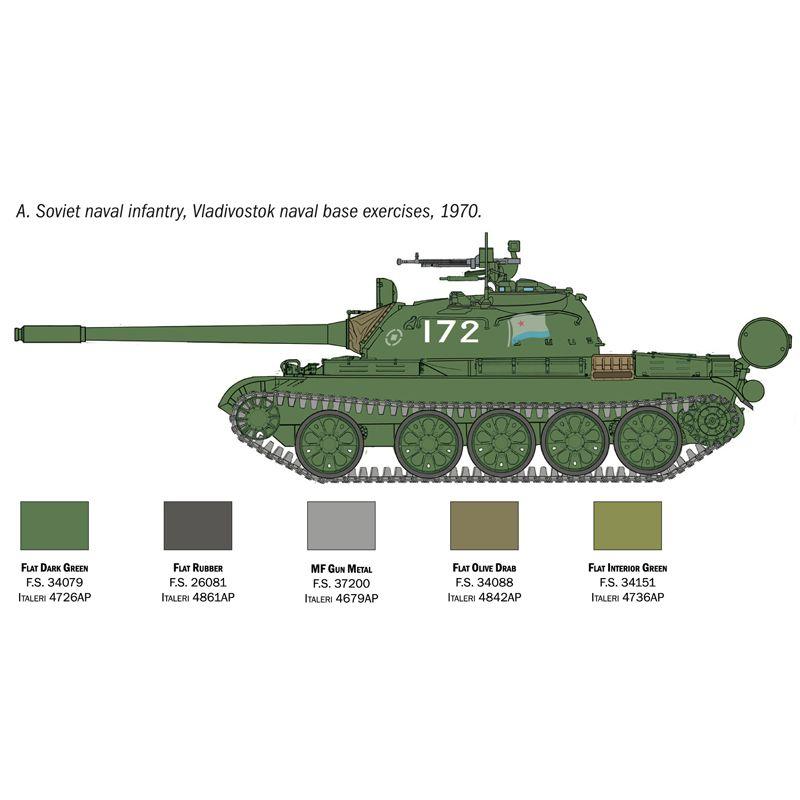 Italeri 7081 T-55 A