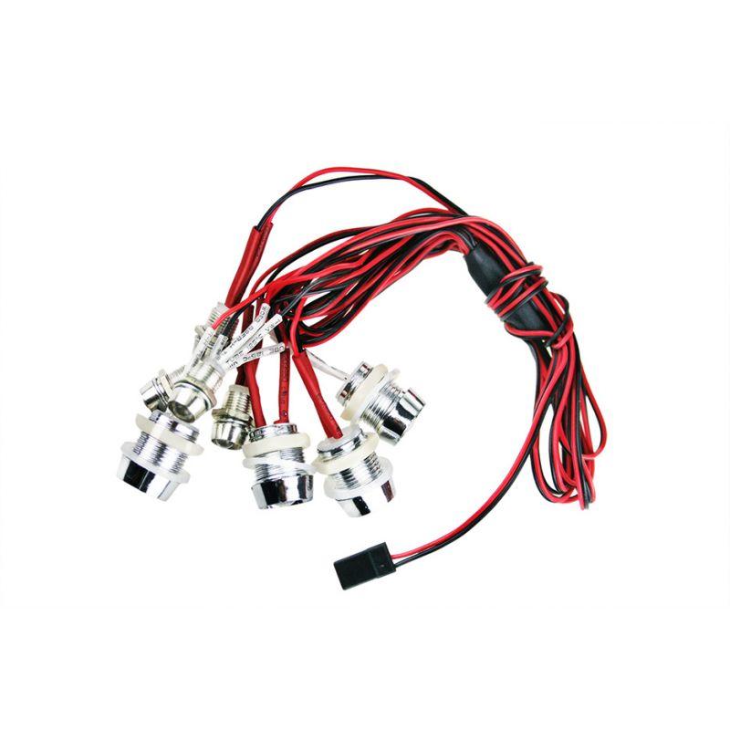 G.T. Power L8 Modellautó világítás szett 8db LED