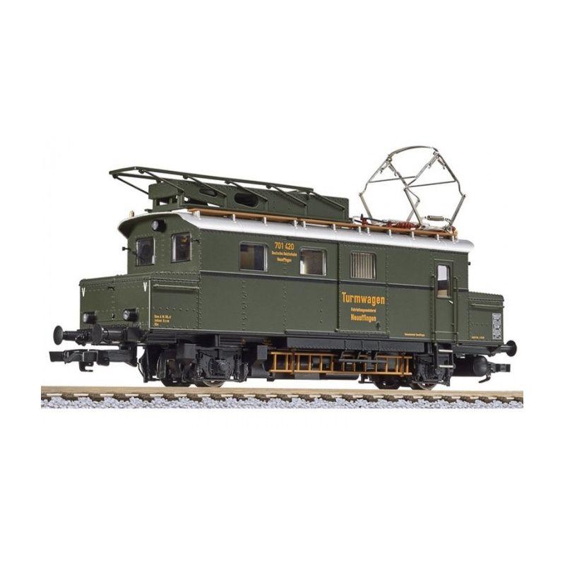 Liliput 136134 Felsővezeték-karbantartó akku-motorkocsi Nr. 701 420 Neuoffingen, DRG II