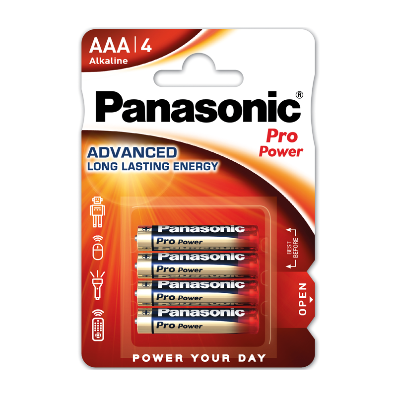 Panasonic AAA 4db ProPower elem