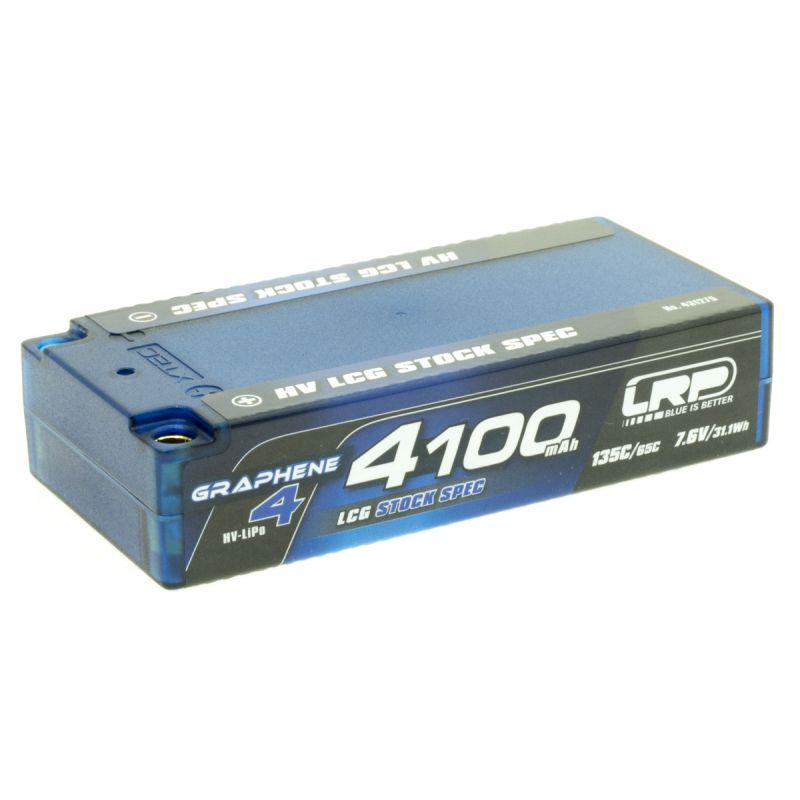 LRP 431275 Akku LiPo 4100mAh LCG stock spec135/65C