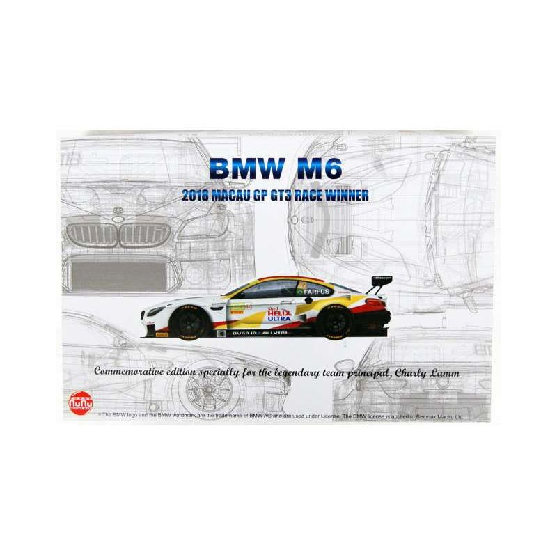 NUNU BMW M6 2018 Macao GP GT3 Race winner