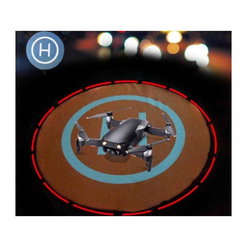 Drón landoló platform világítós 55cm