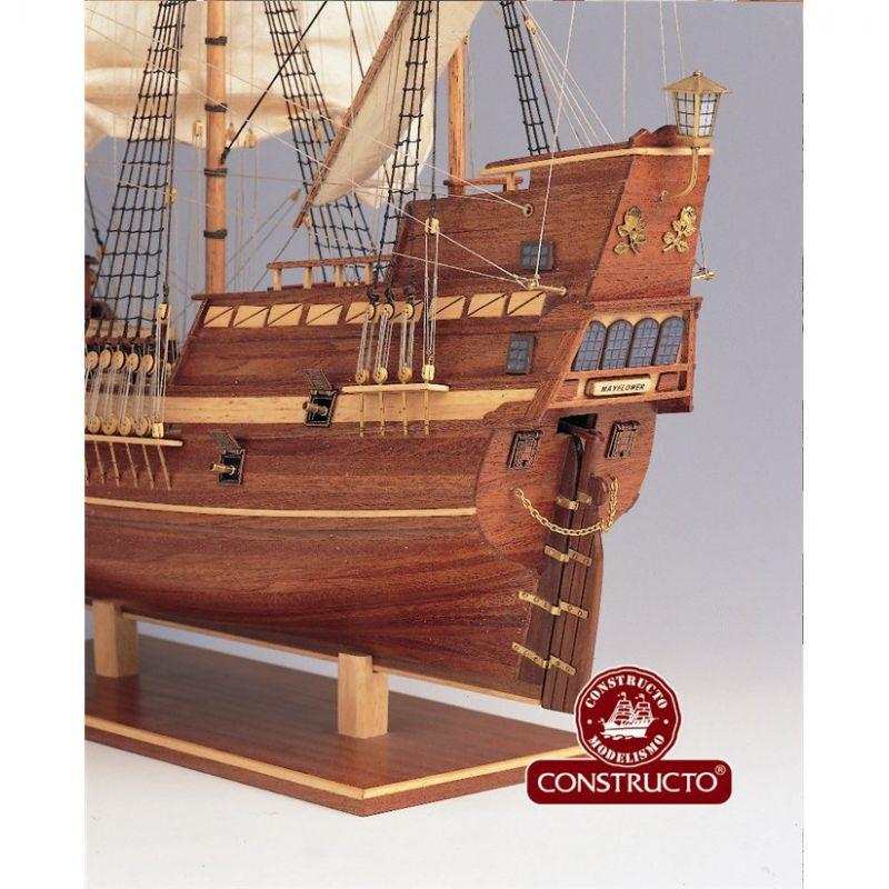 Constructo 80819 Mayflower vitorlás, fa hajómakett