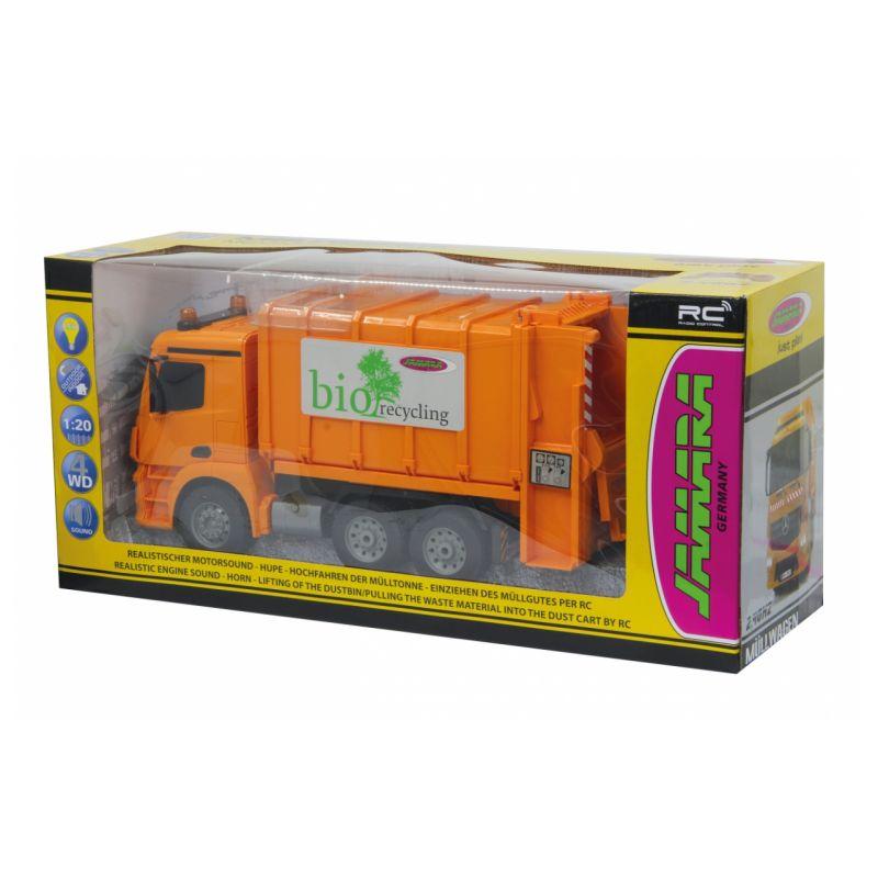 JAMARA 405079 Távirányítós MB-Antos kukásautó