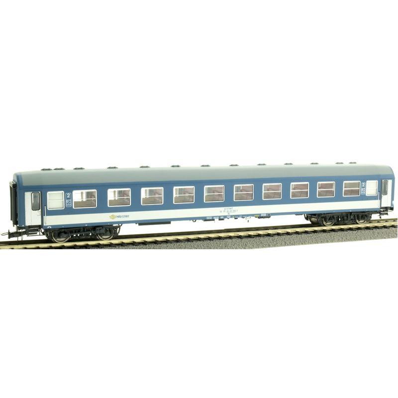NMJ 410104 Személykocsi 2.o. Bo, fülkés, MÁV H-Start VI, belső világítással, 4. pályaszám