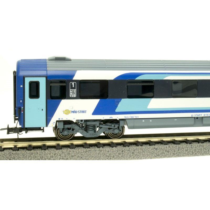 NMJ402103 Személykocsi CAF 1.o. Amz fülkés, 19-91 105-6, MÁV H-Start VI