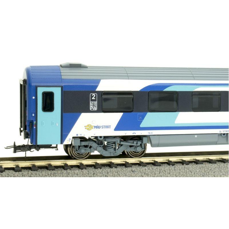 NMJ403103 Személykocsi CAF 2.o. Bpmz termes, 20-91 113-7, MÁV H-Start VI, 1. pályaszám