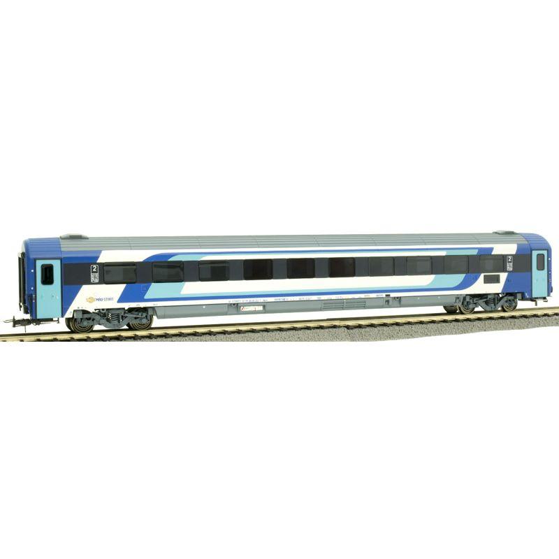 NMJ403104 Személykocsi CAF 2.o. Bpmz termes, 20-91 111-1, MÁV H-Start VI, 2. pályaszám