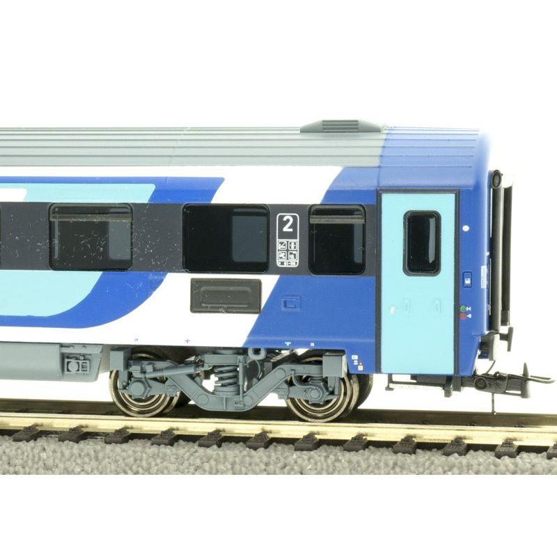 NMJ404103 Személykocsi CAF 2.o. Bmz fülkés, 21-91 104-5, MÁV H-Start VI, 1. pályaszám