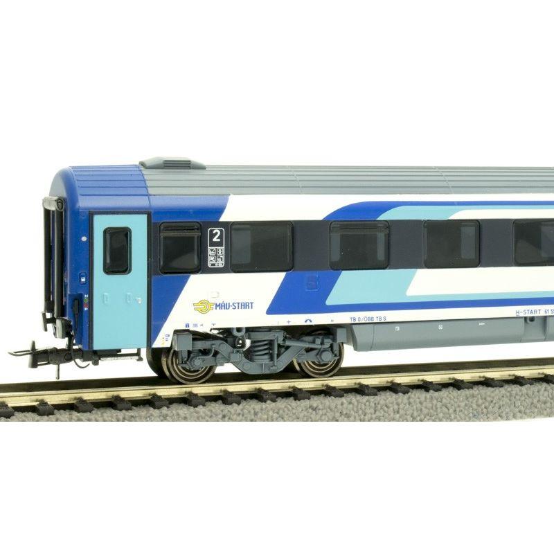 NMJ404104 Személykocsi CAF 2.o. Bmz fülkés, 21-91 111-0, MÁV H-Start VI, 2. pályaszám