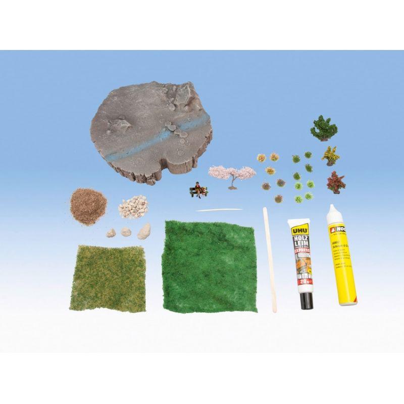 NOCH 10002 Diorama Kit  Summer Breeze
