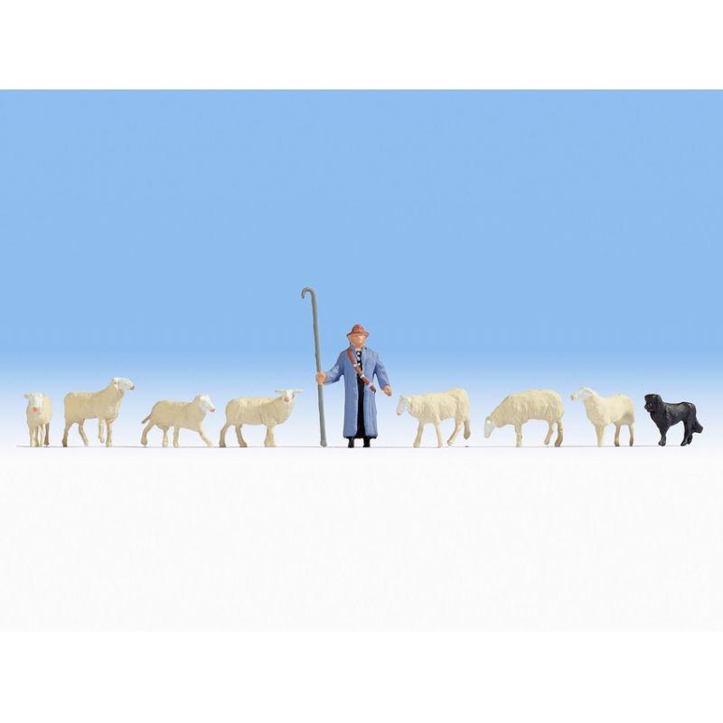 NOCH 45748 Schafe und Schäfer