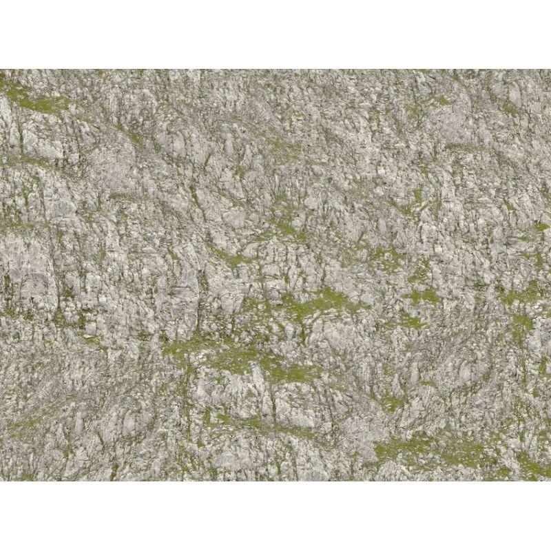 Noch 60305 Knitterfelsen® gyűrhető terepépítő papír, Seiser Alm