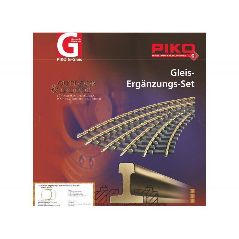 Piko 35302 G-Gleis-Set Überholgleis