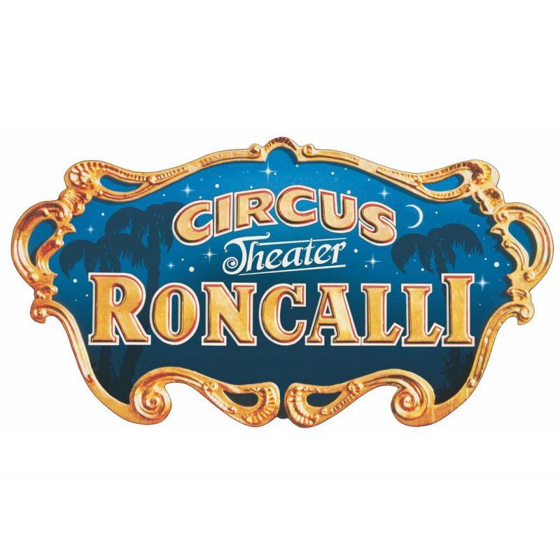 PIKO 37154 Kezdőkészlet, Roncalli cirkuszi vonat, akkumulátors, RC